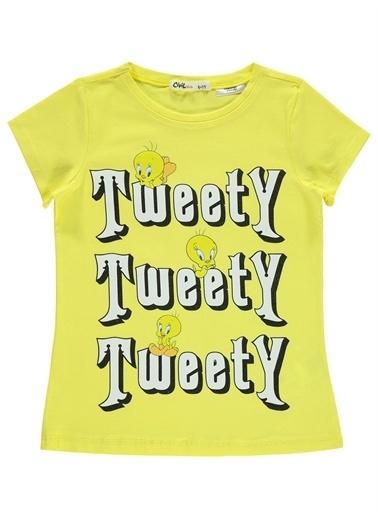Tweety Tweety Kız Çocuk Tişört 6-9 Yaş Sarı Tweety Kız Çocuk Tişört 6-9 Yaş Sarı Sarı